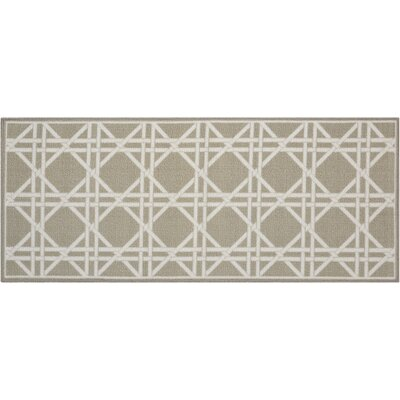 Fancy Free & Easy Garden Lattice Stone Area Rug Rug Size: Rectangle 18 x 210