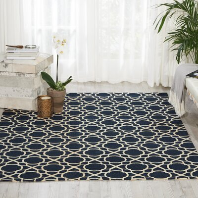 Color Motion Black Area Rug Rug Size: Rectangle 8 x 10