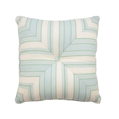 Astrid Button Tufted 100% Cotton Throw Pillow