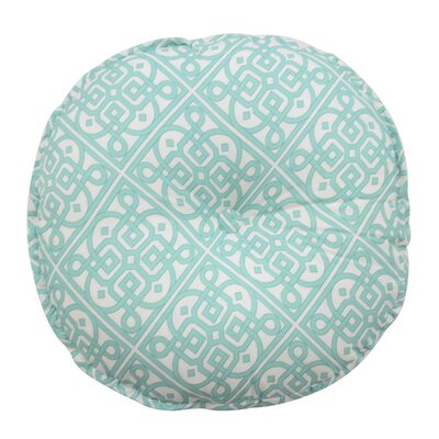 Poetic Button Tufted Pillow