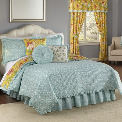 Poetic 4 Piece Reversible Quilt Set Size: King