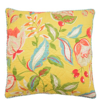 Poetic Reversible Throw Pillow