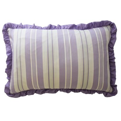 Ipanema Striped Polyester Lumbar Pillow