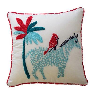 Reverie Zebra Polyester Throw Pillow
