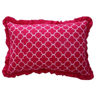 Reverie Quatrefoil Polyester Lumbar Pillow