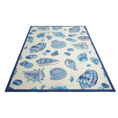 Sun n Shade Ivory Indoor/Outdoor Area Rug Rug Size: 79 x 1010