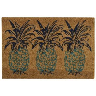 Alton Greetings Pineapple Doormat