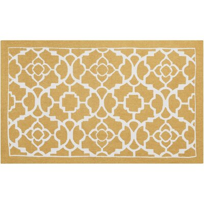 Art House Hand-Woven Gold Area Rug