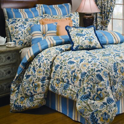 Imperial Dress 4 Piece Comforter Set Size: King