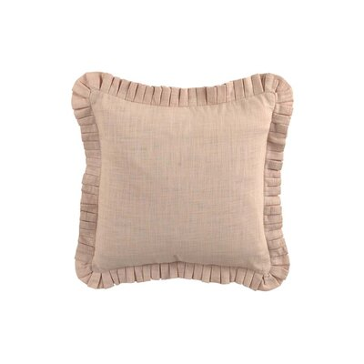 Cape Stacked Pleated Throw Pillow