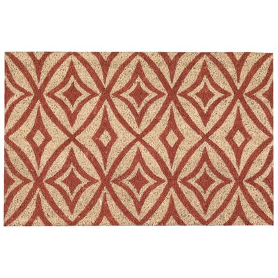 Greetings Centro Doormat Rug Size: 16 x 24