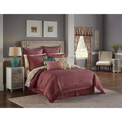 Key of Life 100% Cotton 4 Piece Reversible Comforter Set Size: Queen