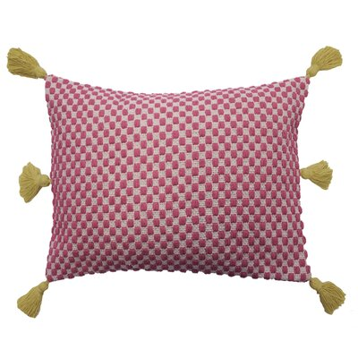Key of Life Woven 100% Cotton Lumbar Pillow