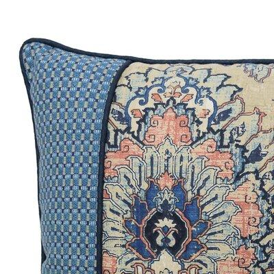 Castleford Pieced 100% Cotton Lumbar Pillow