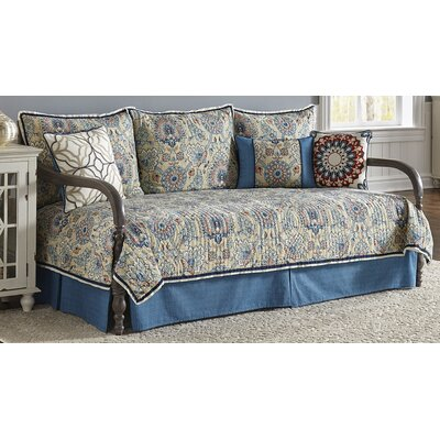 Castleford 100% Cotton 5 Piece Reversible Daybed Set
