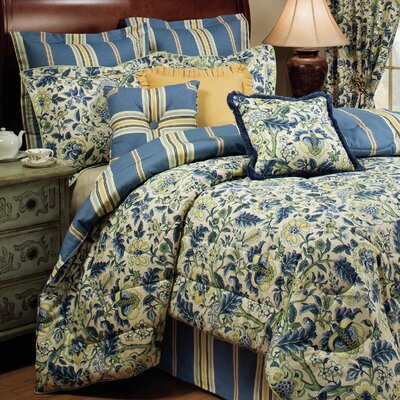 Imperial Dress 4 Piece Comforter Set Size: Queen