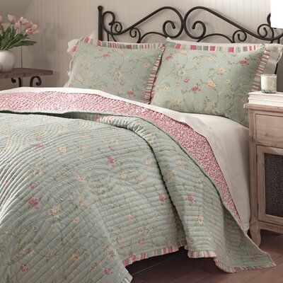 Garden Glitz Reversible Quilt Size: Full / Queen