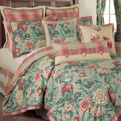 Sonnet Sublime 4 Piece Reversible Comforter Set Size: Queen