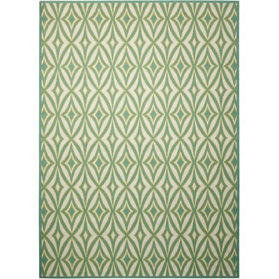 Sun n Shade Centro Green Indoor/Outdoor Area Rug Rug Size: Rectangle 79 x 1010