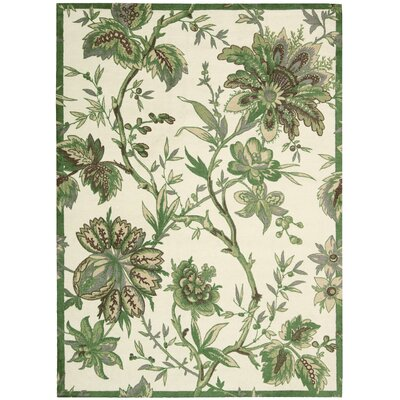 Artisanal Delight Felicite Leaf Area Rug Rug Size: Rectangle 8 x 10