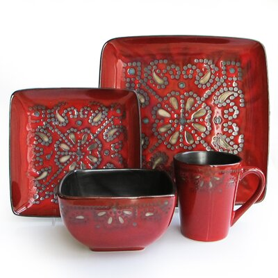 Marquee 16 Piece Dinnerware Set