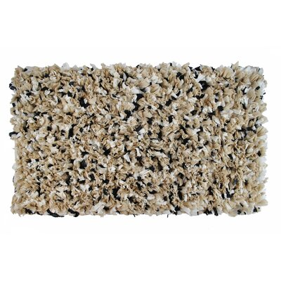 Angelique Bath Rug Color: Black