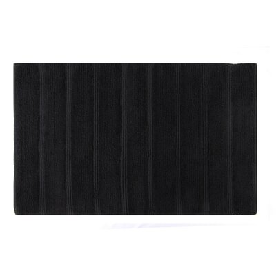 Frameloom Loop Bath Rug Color: Black