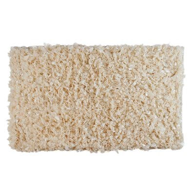Angelique Bath Rug Color: Ecru