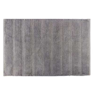 Frameloom Loop Bath Rug Color: Grey