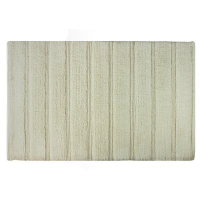 Frameloom Loop Bath Rug Color: Ivory