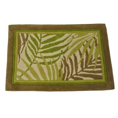 Sago Palm Bath Rug