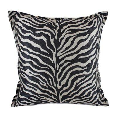 True Safari Throw Pillow Color: Black