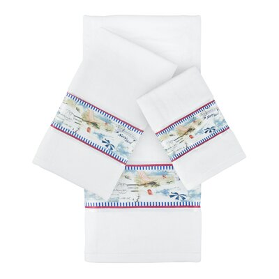La Boracay Decorative 3 Piece Towel Set