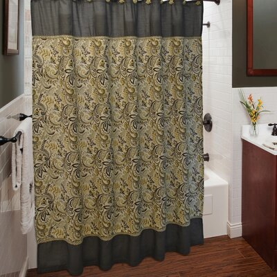 Findlay Shower Curtain with Hook Set