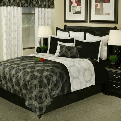 Circa 8 Piece Comforter Set Size: Queen