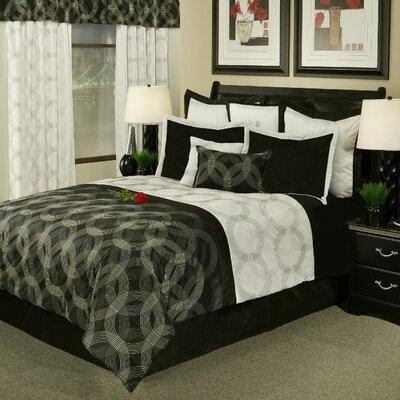Circa 8 Piece Comforter Set Size: King
