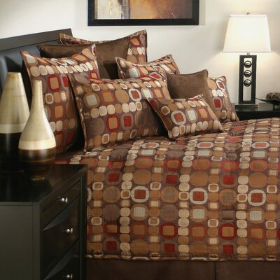 Metro 6 Piece Comforter Set Size: California King