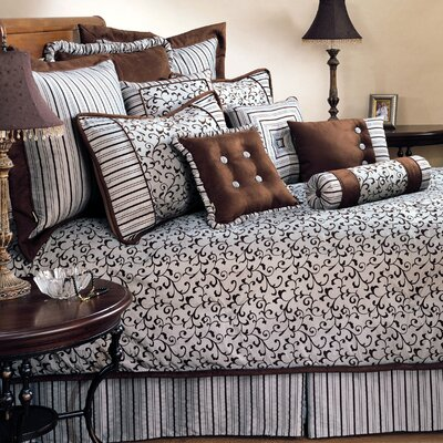 Belacour 4 Piece Comforter Set Size: King