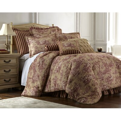 Country Sunset 4 Piece Comforter Set Size: King