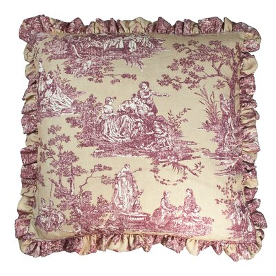 Country Sunset Toile Luxury Euro Pillow