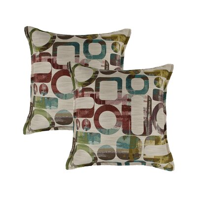 Metropolis Reversible Decorative Throw Pillow