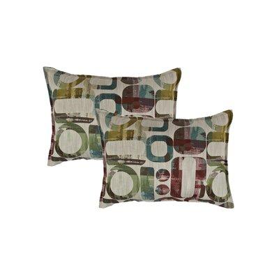 Metropolis Reversible Decorative Lumbar Pillow