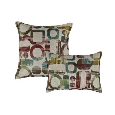 Metropolis Reversible 2 Piece Pillow Set