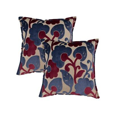 Bouquet Reversible Decorative Throw Pillow