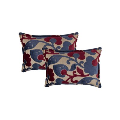 Bouquet Reversible Decorative Lumbar Pillow