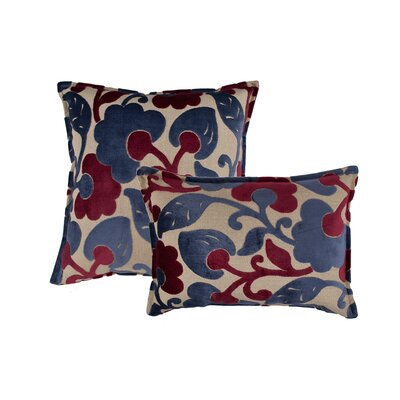 Bouquet Reversible 2 Piece Pillow Set