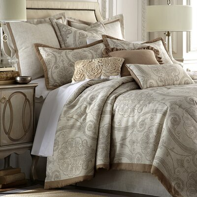 Lily 4 Piece Comforter Set Size: King