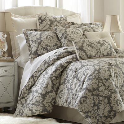 Brooklyn 4 Piece Comforter Set Size: Queen