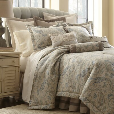Sophia 4 Piece Comforter Set Size: Queen