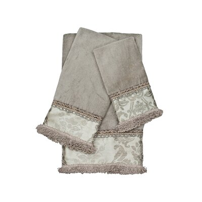 Westminster Decorative Embellished 3 Piece Towel Set